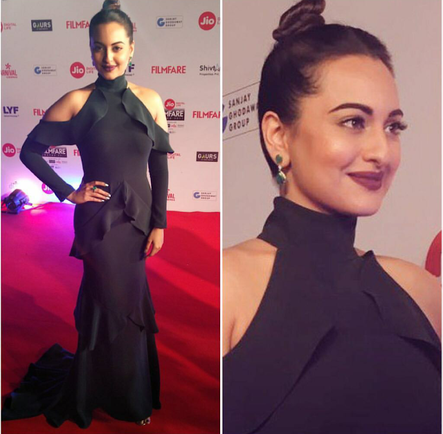 Sonakshi Sinha In Gauri and Nainika At Filmfare Awards 2017