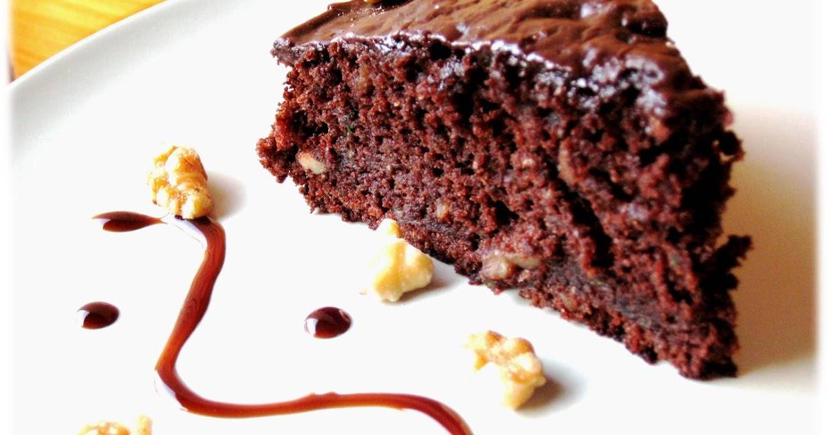 Bizcocho de chocolate y calabacn  El Saber Culinario
