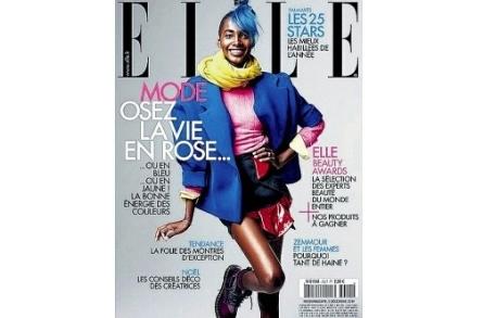 Tami Williams portada Elle 5 diciembre 2014
