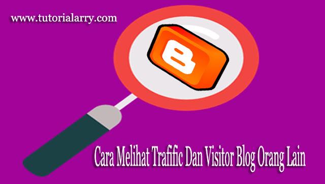 Cara Melihat Trafific Dan Visitor Blog Orang Lain