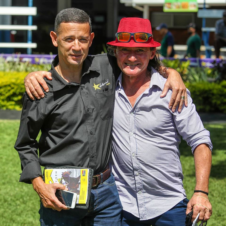 Anthony Delpech and MJ Odendaal