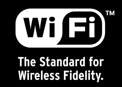 "Tagline ""The standard for wireless fidelity"" dari Wi-Fi Alliance"