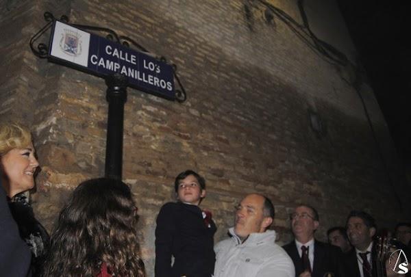 Los Campanilleros ya cuentan con una calle con su nombre en Castilleja de la Cuesta