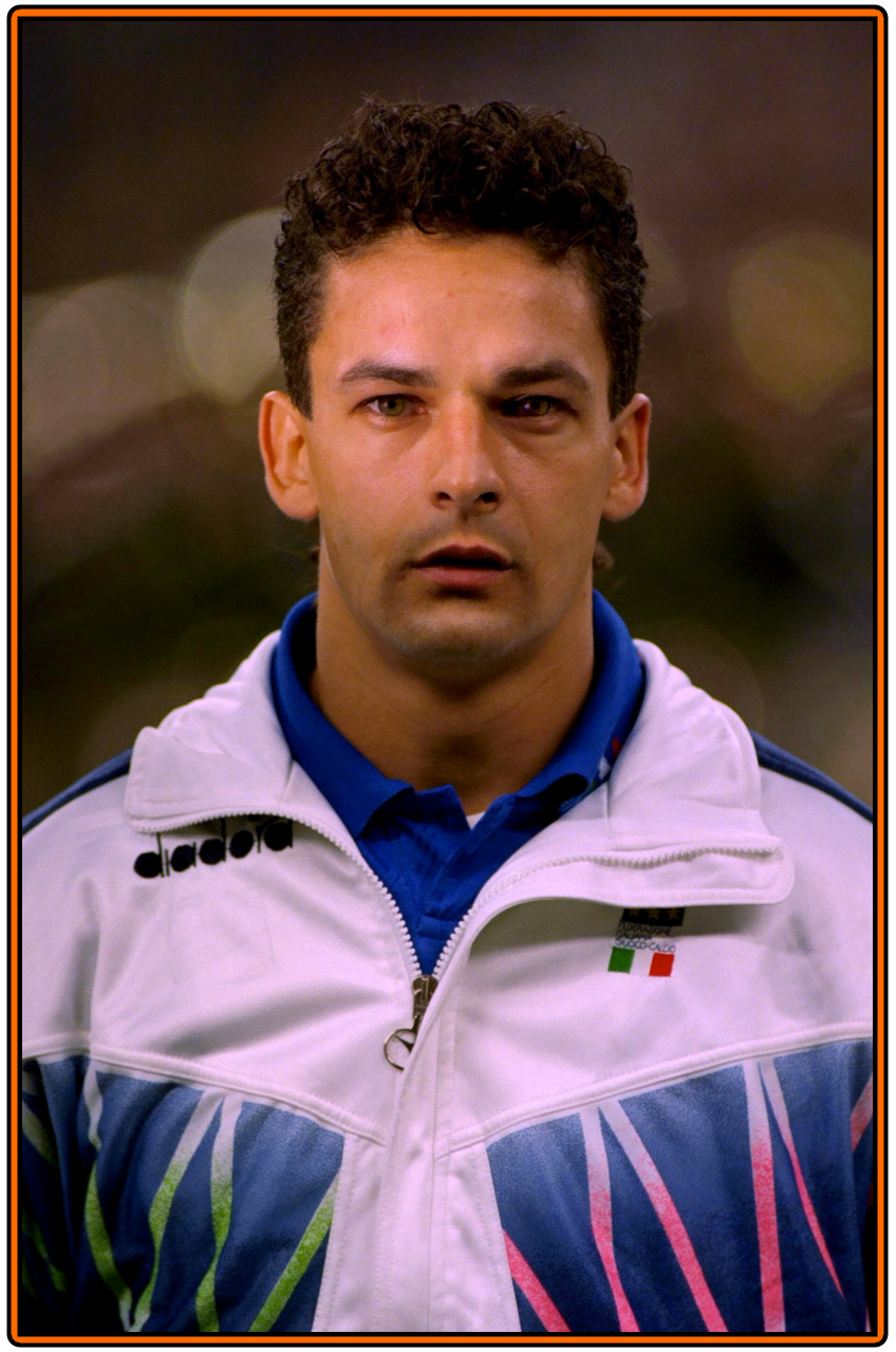 Old School Panini Once Upon A Time Roberto Baggio