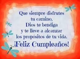 Happy Birthday Sobrino Dios Te Bendiga