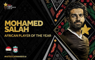 CAF names Mo Sallah African Best Player of the year