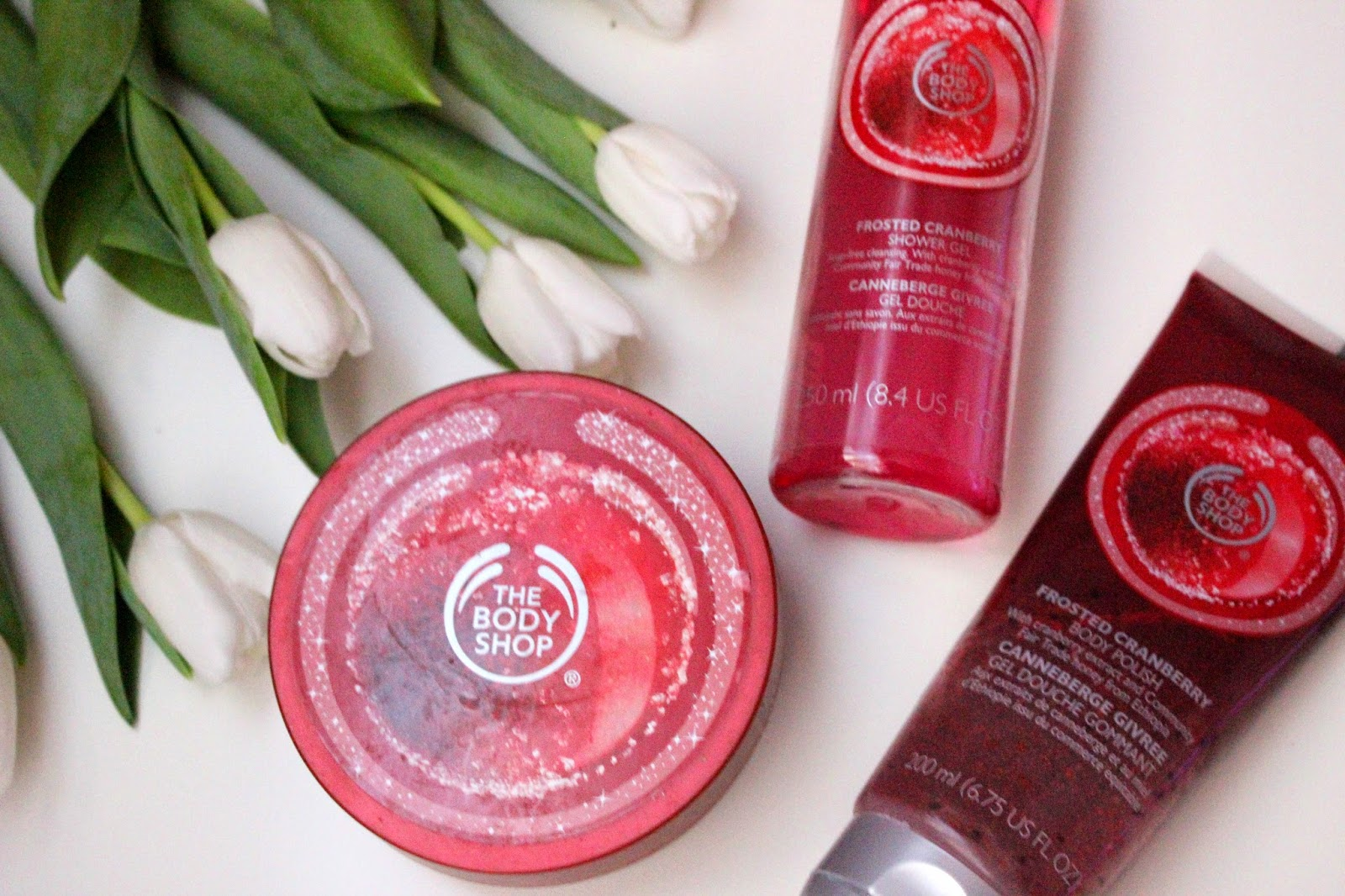 The Body Shop - Cranberry - Żurawinowe Trio