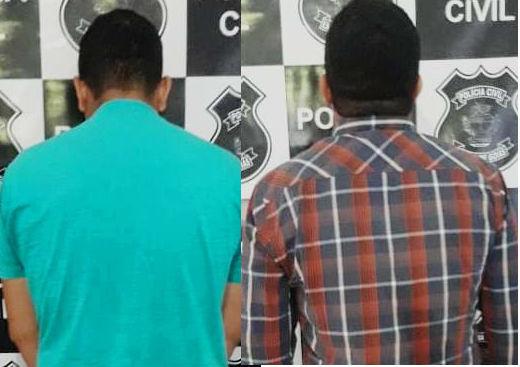 Goianápolis: Presos acusados de estupro de vulnerável e coação