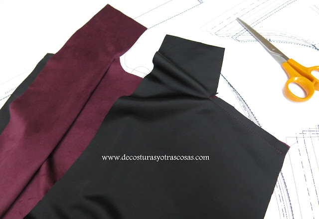 costura hombros
