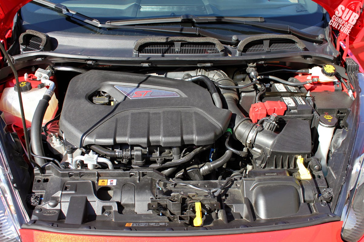 Ford Fiesta EcoBoost engine