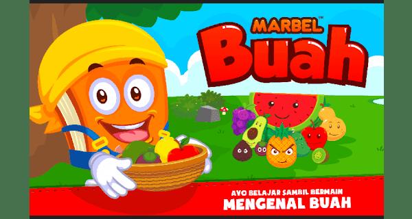 marbel belajar buah