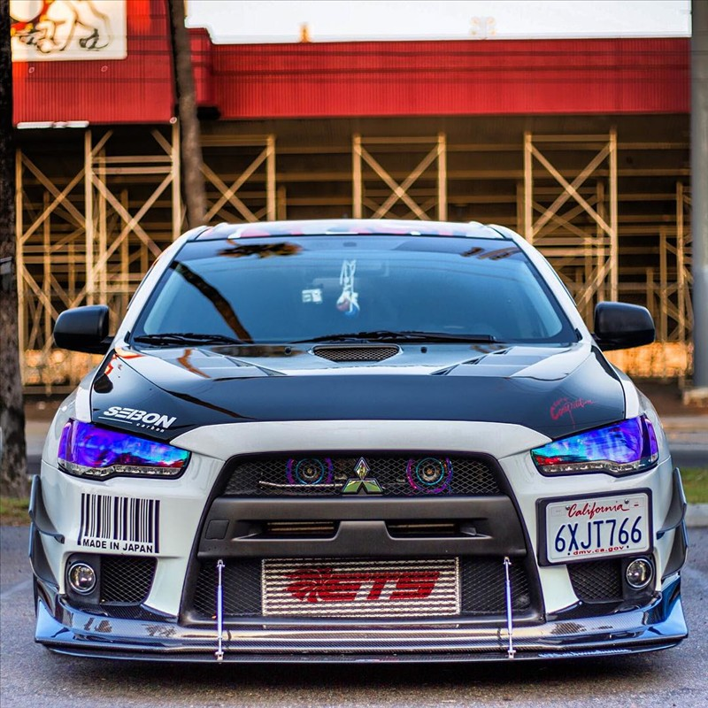 Love at first sight, Mitsubishi Evo Dyme