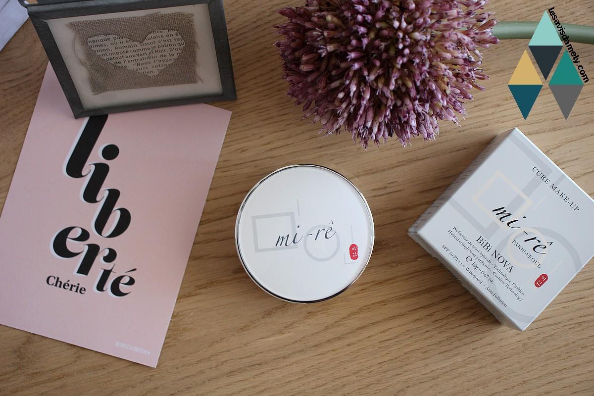revue beauté poudre teint hybride makeup coréen mi-rê