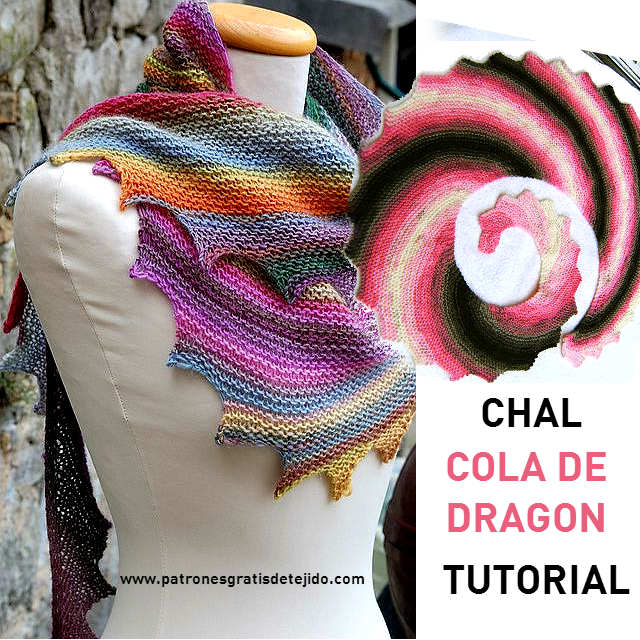 Chal Cola de Dragón / Tutorial en video y escrito | Crochet y Dos ...