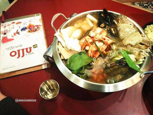 Budae Jjigae Seafood