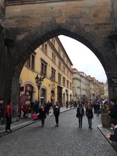 prague czech republic wanderlust travelblog europe charles bridge exit
