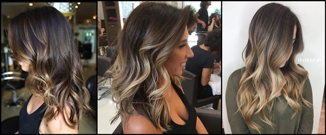 Best Partial Highlights Ideas for Brunettes 2017