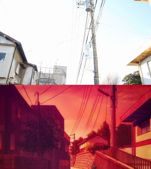 47 gambar Anime pemandangan jalan raya