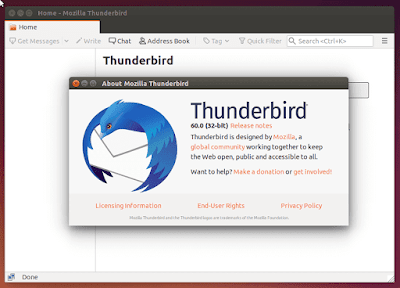 Upgrade Thunderbird in Linux