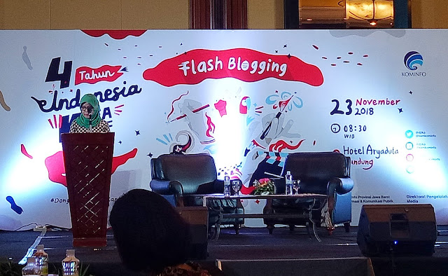 Flash blogging