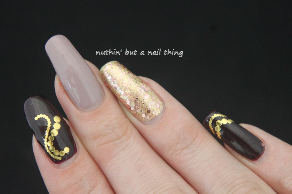 nuthin\' but a nail thing: Simple water decal nail art