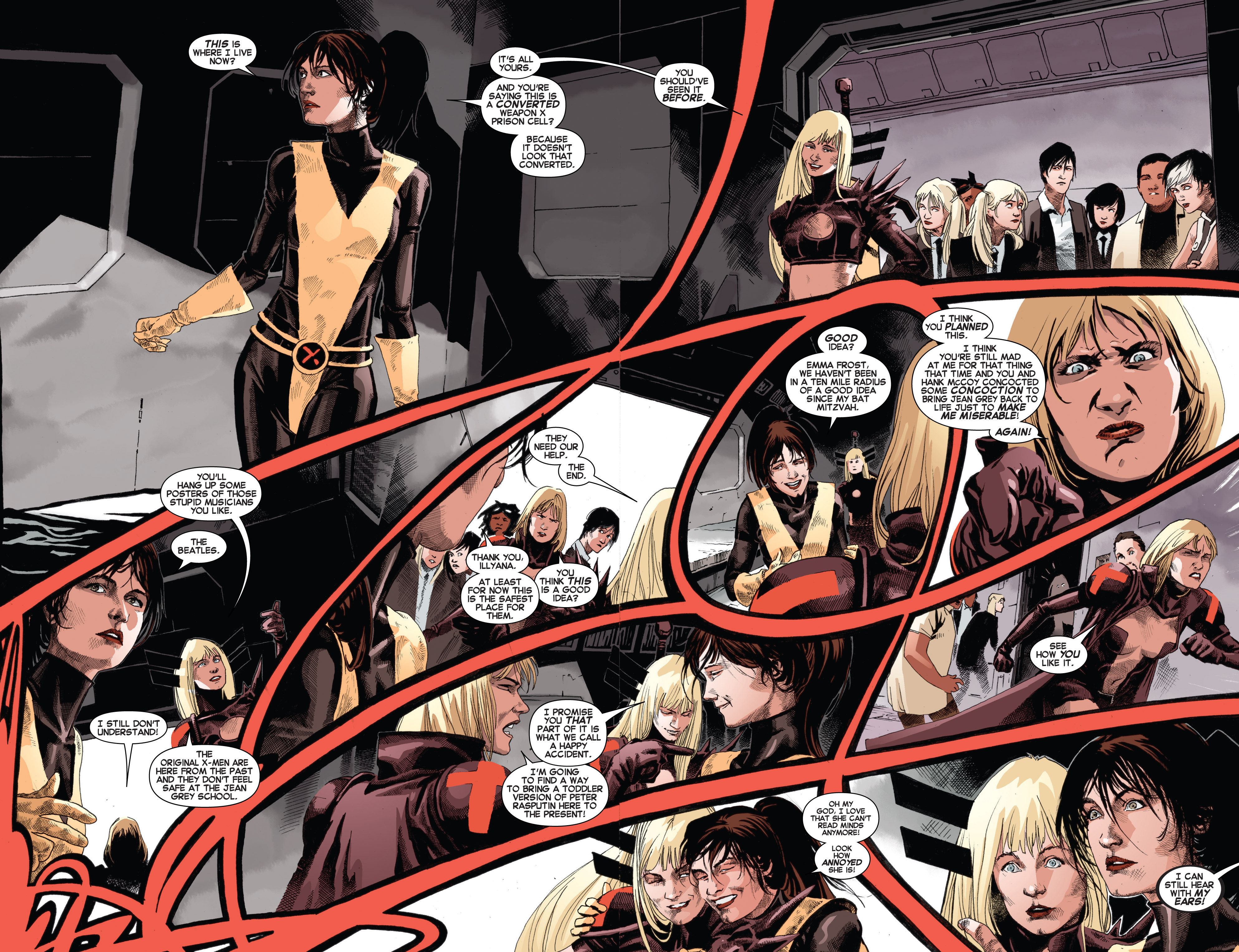 Read online Uncanny X-Men (2013) comic -  Issue # _TPB 3 - The Good, The Bad, The Inhuman - 98