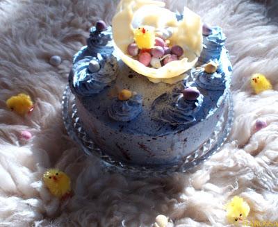 WIELKANOCNY TORT/ ROBINS EGG CAKE