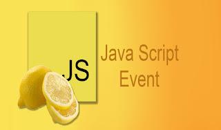 Java Script Event
