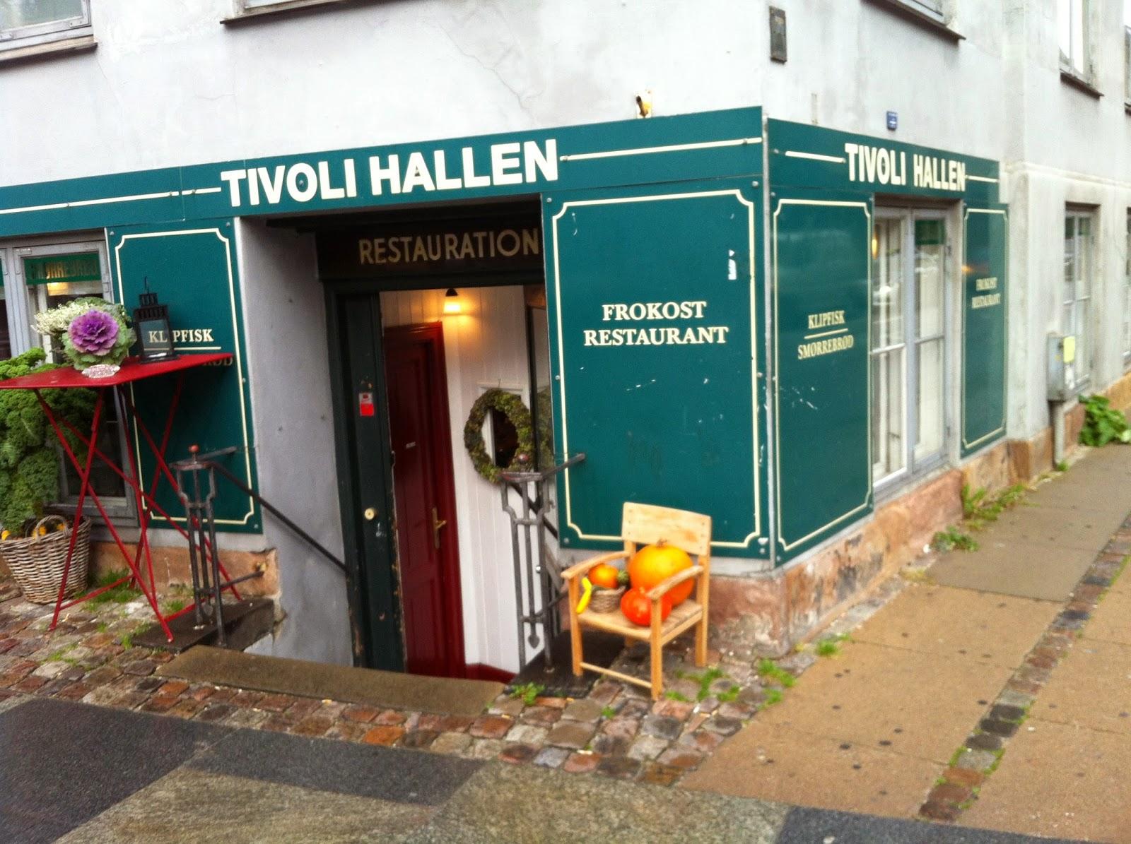 Tivoli Hallen restaurant in Copenhagen
