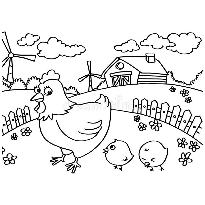 Aneka Gambar Mewarnai Hewan Ayam Untuk Anak Paud Dan Tk Terbaru