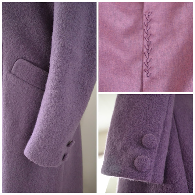 1930s Tailored Coat Made By Anthea