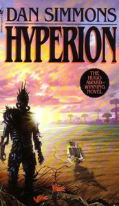 Portada de Hyperion, de Dan Simmons