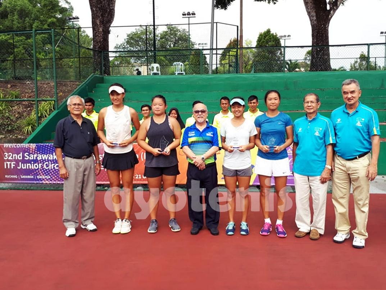 Janice Tjen /Wing Ka Lin Runner Up Turnamen ITF G3 Sarawak, Malaysia