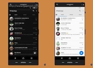 WhatsApp BLACK and WHITE v2.17.323 OFFICIAL Apk