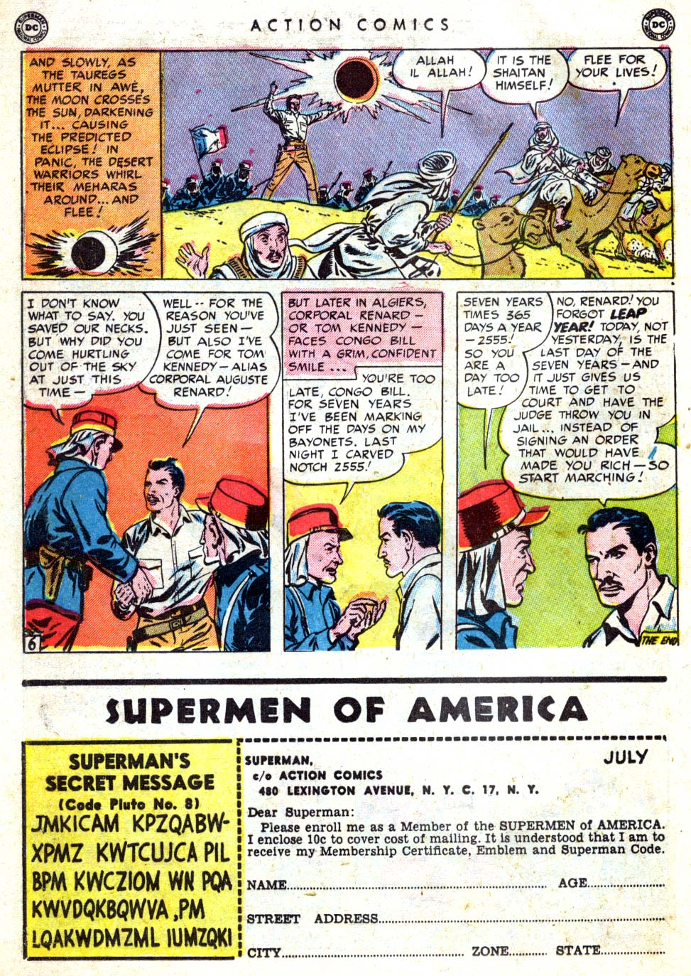 Read online Action Comics (1938) comic -  Issue #146 - 32