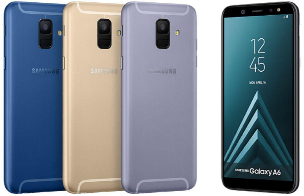 Samsung Galaxy A6 beserta fitur dan spesifikasi lengkap