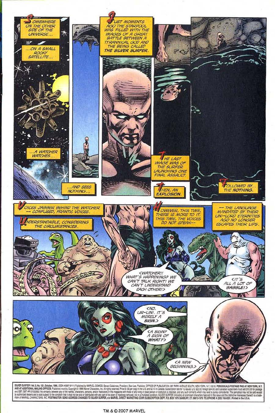 Read online Silver Surfer (1987) comic -  Issue #121 - 3