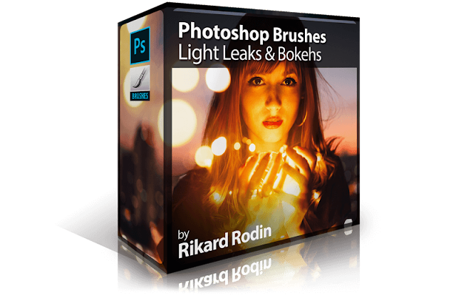 Photoshop Brushes: Light Leaks and Bokehs