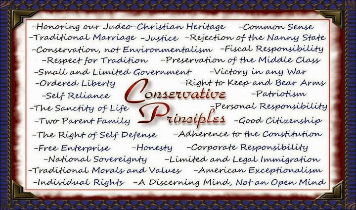The Conservative Party Principles