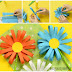 Çocuklar İçin Kağıt Çiçek Yapımı - DIY