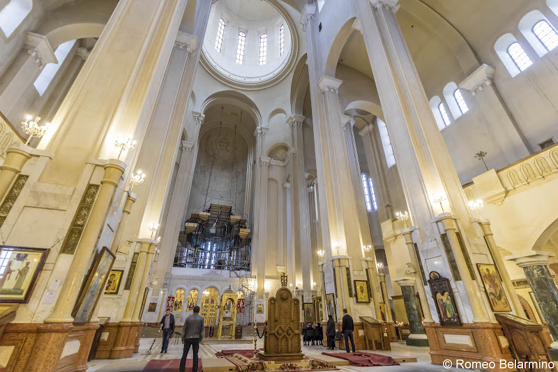 Holy Trinity Cathedral of Tbilisi (Sameba) Interior Things to Do in Tbilisi Georgia