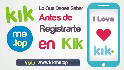 Lo que debes saber antes de registrarte en Kik Messenger