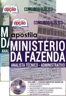 Apostila Concurso Ministério da Fazenda grátis cd rom -Assistente Técnico-Administrativo (ATA-NS).