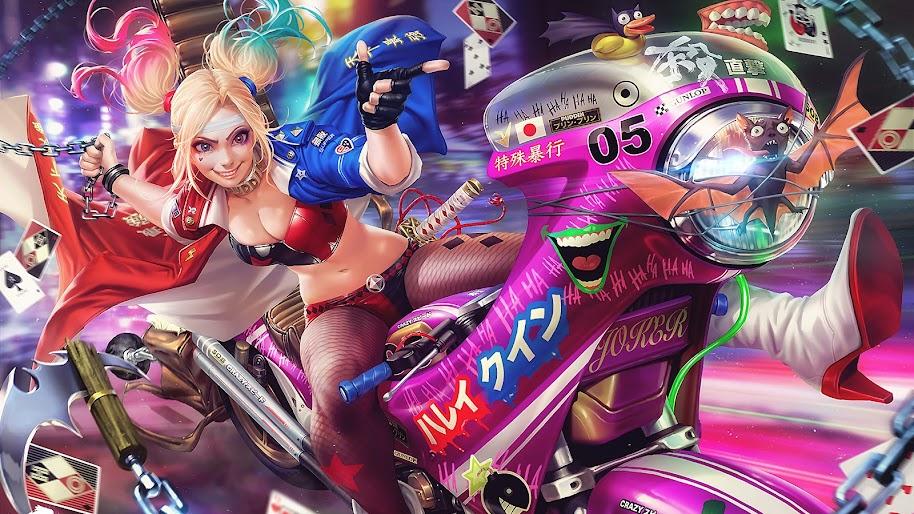 Harley Quinn, 4K, #144