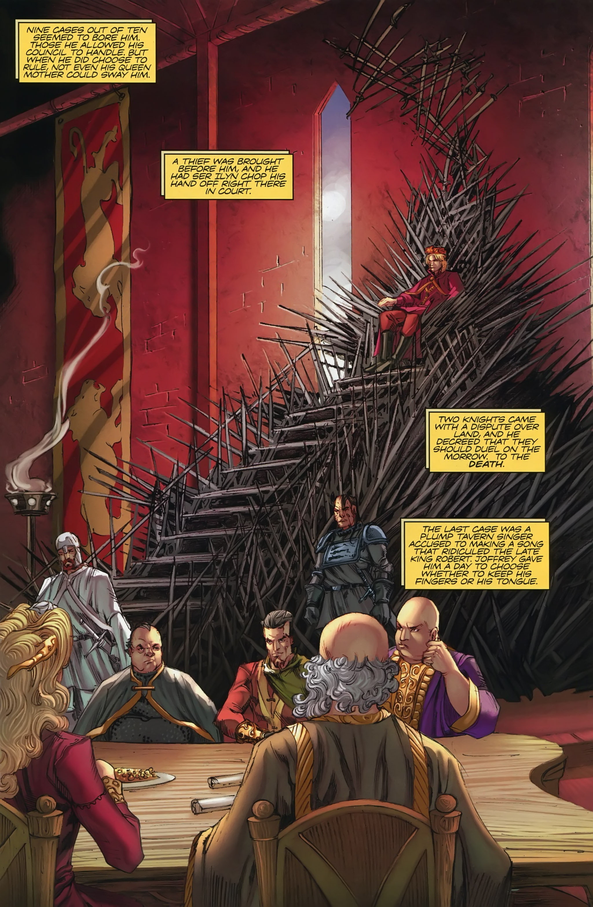 Read online A Game Of Thrones comic -  Issue #22 - 11