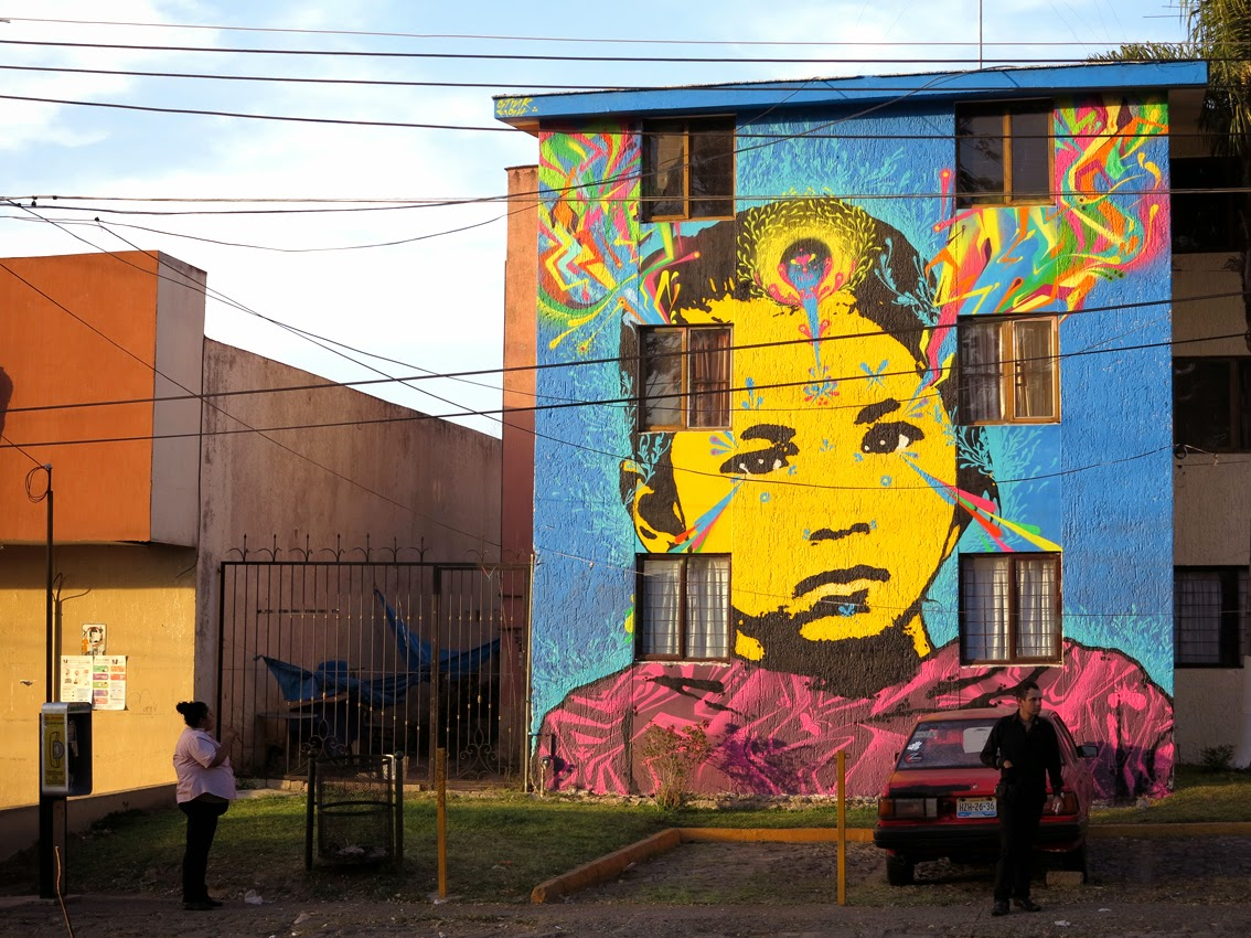 Stinkfish New Mural For The Gum Project - Tonala, Mexico