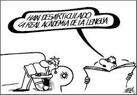 Meme de humor sobre la Real Academia de la Lengua