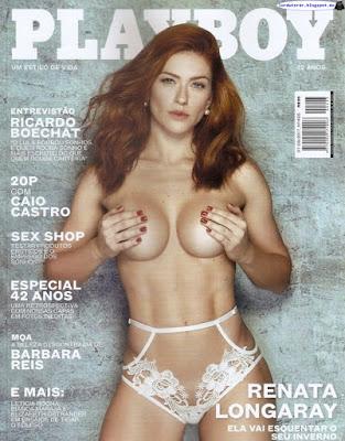Este mes en Playboy Brasil: