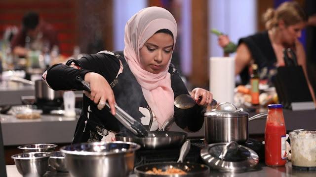 Wanita Muslim Berhijab 'Unjuk Gigi' di Ajang Masterchef Kanada