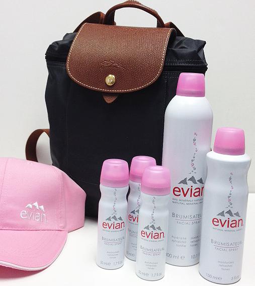 Evian Facial Spray's Bon Voyage Sweepstakes! #evianspray
